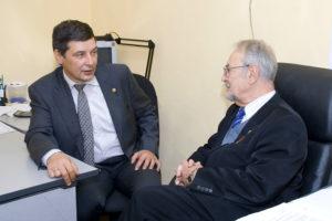 Основатели проекта к.э.н. И. Ю. Лимбах и проф. Г. О. Карапетян
